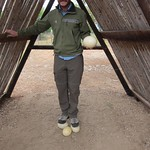 "Standing on Ostrich Eggs! <a style=""margin-left:10px; font-size:0.8em;"" href=""http://www.flickr.com/photos/14315427@N00/6298200007/"" target=""_blank"">@flickr</a>"