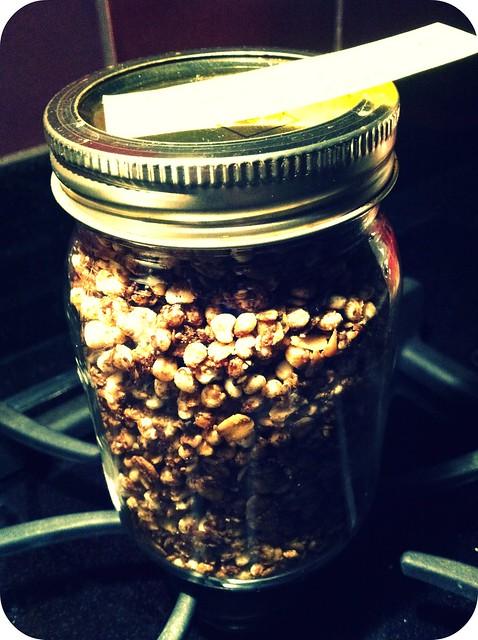 jarred granola