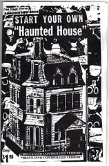 Start Your Own Haunted House zine (fotoflow / Oscar Arriola) Tags: horse usa house chicago zine america start book us illinois mask united gas haunted il your states own gmh photocopied