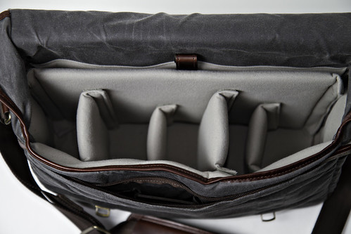 Union Street Camera Bag Interior