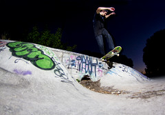 John Stowe - BS Tailslide (mike heikkila) Tags: mike canon john rebel skateboarding florida fisheye tokina pierce ft stowe skateboards sunpak heikkila 120j 1017mm t2i blooze