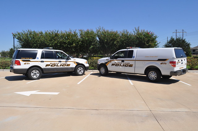 Crime Scene Vehicles