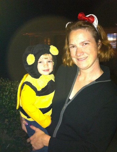Bumble bee and Hello Kitty