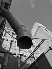 Industrial angle () Tags: old city usa building brick history up architecture america grit photo washington interesting industrial view angle state image artistic furniture district united pipe picture gritty historic company photograph valley tacoma states fragment harmon nalley