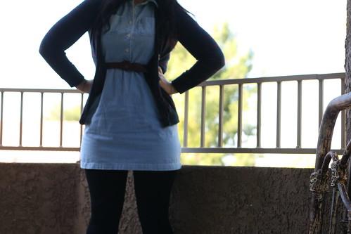 jean dress.