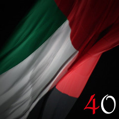 UAE FLAG , 40th National Day (Ahmad Al Zarouni) Tags: red white black green colors 1971 day flag dec 2nd national 40             blinkagain    uae