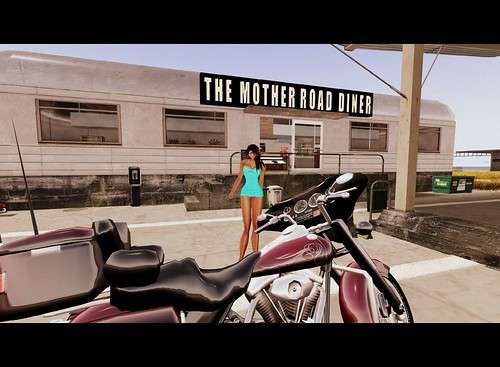 The Mother Road Diner by Cherokeeh Asteria