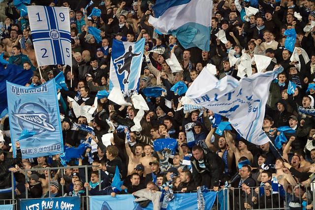 Трибуны стадиона «Петровский»