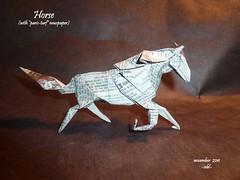 paris-turf (-sebl-) Tags: horse paris english newspaper origami forum turf