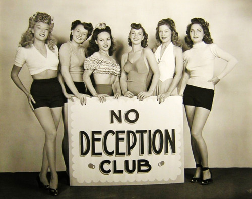 NO DECEPTION CLUB