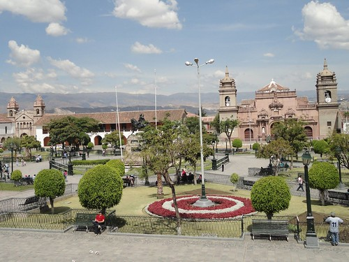 Plaza principal in Huamanga