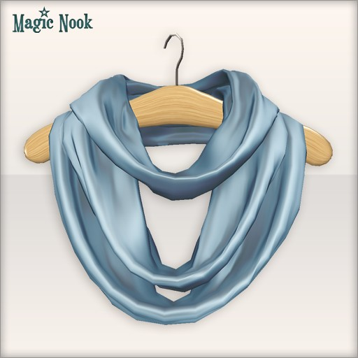 [MAGIC NOOK] Highland Scarf - Close up