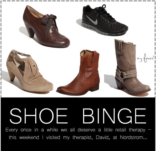 shoe binge