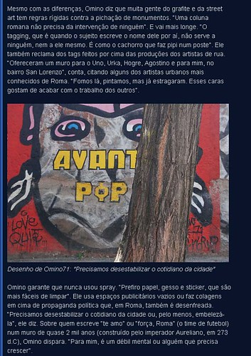Nas capitais europeias, grafiteiros tentam driblar rigor da lei e conservadorismo by OMINO71