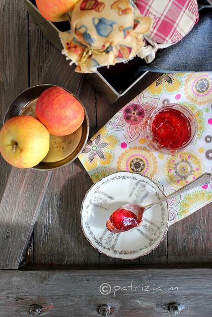 Gelée di mele e ribes