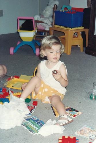 Lindsay age 2