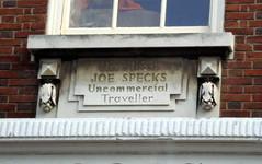Photo of Joe Specks stone plaque