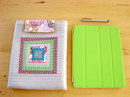 my iPad case, stylus and iPad