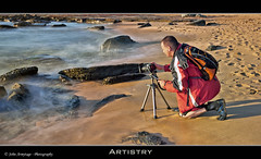 Artistry (John_Armytage) Tags: seascape beach sunrise movement photographer wave australia nsw 5d forrestersbeach canon1740lusm centralcoastnsw canoneos5dmark11 johnarmytage wwwjohnarmytagephotographycom mattburman