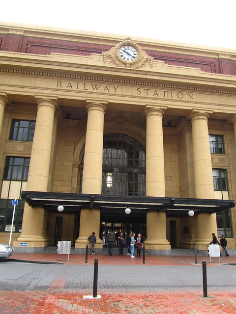 Wellington Railway Station, New Zealand