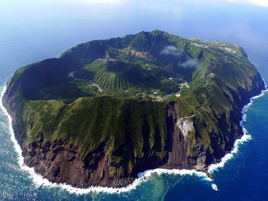 Meridianos La Isla De Aogashima 青ヶ島村 El Pueblo M 225 S