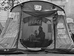 Occupy London November 2011 (cybersid) Tags: city november camp london saint st tents student peace cathedral buddha rally banner protest stpauls thecity peaceful buddhism pauls tent meditation stpaulscathedral peacefulprotest campsite saintpauls occupation medidate studentprotest 2011 occupy saintpaulscatherdral november2011 occupylondon