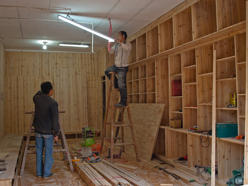"""Xijiang - Construyendo una casa """"típica"""""""