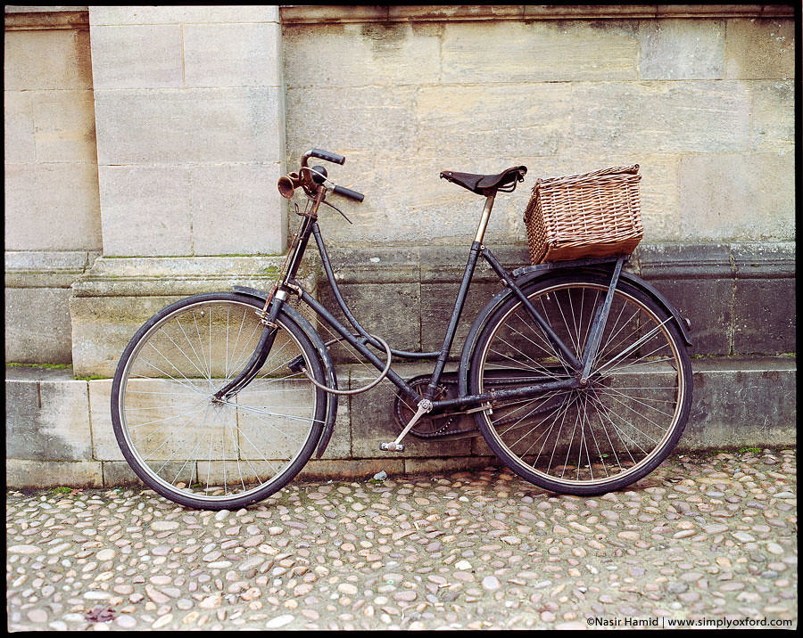 Vicar's bike