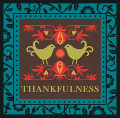 Thankfulness Frame Greeting Card
