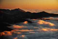 a dream come true (.:: Maya ::.) Tags: park sunset sea mountain clouds landscape peak bulgaria national magestic pirin        sinanitza  mayaeye mayakarkalicheva