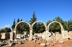 Anjar, Umayyad city, al-Walid I, 705-15, little palace (1) (Prof. Mortel) Tags: lebanon umayyad anjar