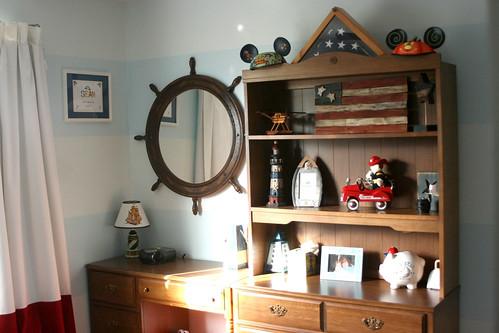 Sean's room ... dresser