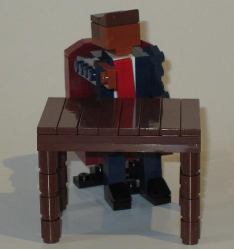 LEGO Miniland Donald Trump