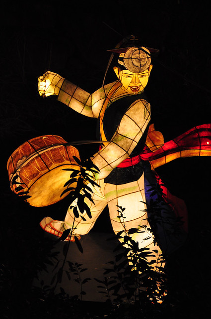Traditional Korean Performer -- Seoul Lantern Festival