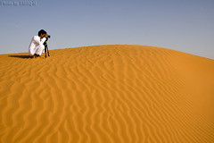 The photographer (TARIQ-M) Tags: texture landscape sand waves desert dunes photographers riyadh saudiarabia          canon400d         canonefs18200mmf3556is   salehmohammed