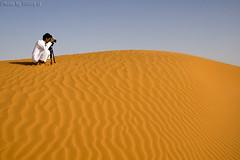 The photographer (TARIQ-M) Tags: texture landscape sand waves desert dunes photographers riyadh saudiarabia          canon400d         canonefs18200mmf3556is   salehmohammed