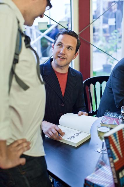 Alan Bissett book signing