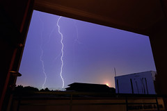 #850C6278- Lightening out there (crimsonbelt) Tags: nature night frame slowshutter lightening balikpapan