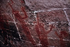 Baja Calif62 (Hiker Bob) Tags: mexico bajacalifornia rockart pictographs lamusica uclaextension sierradesanfrancisco greatmuralsbajacalifornia arroyosanpablo