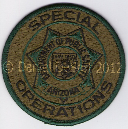 Arizona DPS SWAT (Badge Patch Variant)