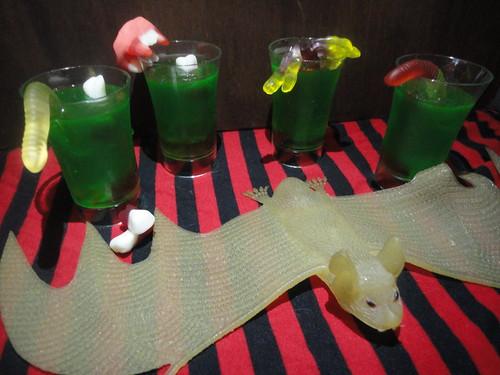 Gelatinas de gusanos