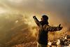 Пиринеееее (.:: Maya ::.) Tags: sunset man clouds joy peak pirin vihren залез вихрен пирин кончето mayaeye mayakarkalicheva маякъркаличева пиринеееее wwwmayaeyecom