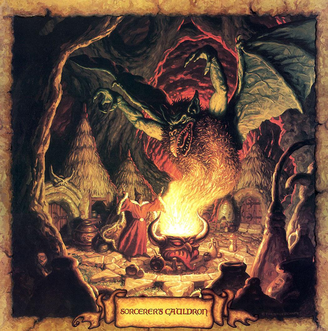Tim Hildebrandt - Sorcerers Cauldron