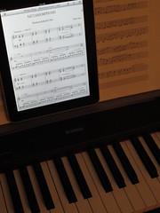 iPad Sheet Music