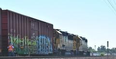 Muzik, Reken (nunya...nunyabusiness) Tags: art train graffiti paint engine worker spraypaint muzik tbox ttx reken