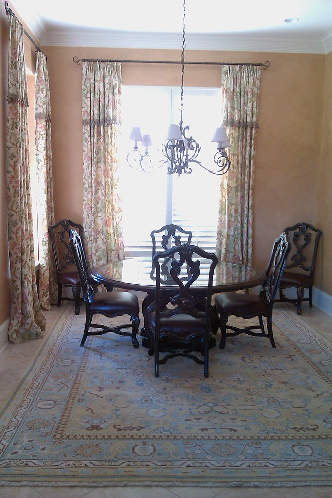 Dining Room Italian Style with Glazed Walls