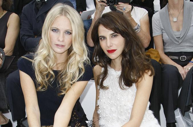 Chanel SS12 Front Row Caroline Sieber Poppy Delevigne