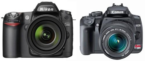 Nikon D80 vs Canon XTi / 400D