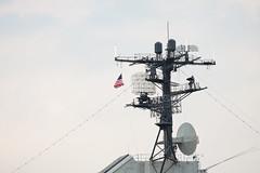 USS Intrepid (Angad Singh | Zone 5 Aviation) Tags: new city nyc newyorkcity radio manhattan equipment wires intrepid mast uss antenna canon70200f4l canoneos50d canonef70200mmf4lisusm