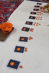 Pumpkin Cards and Counters (Photo from To the Lesson!)